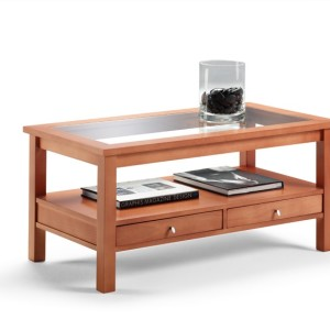 Comprar mesa centro cerezo online de dise o lamesadecentro - Mesas centro baratas ...