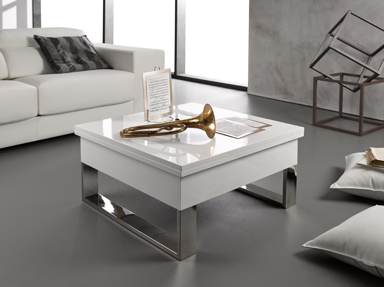 Mesa de centro blanca online la mesa de centro tienda for Mesas de centro pequenas