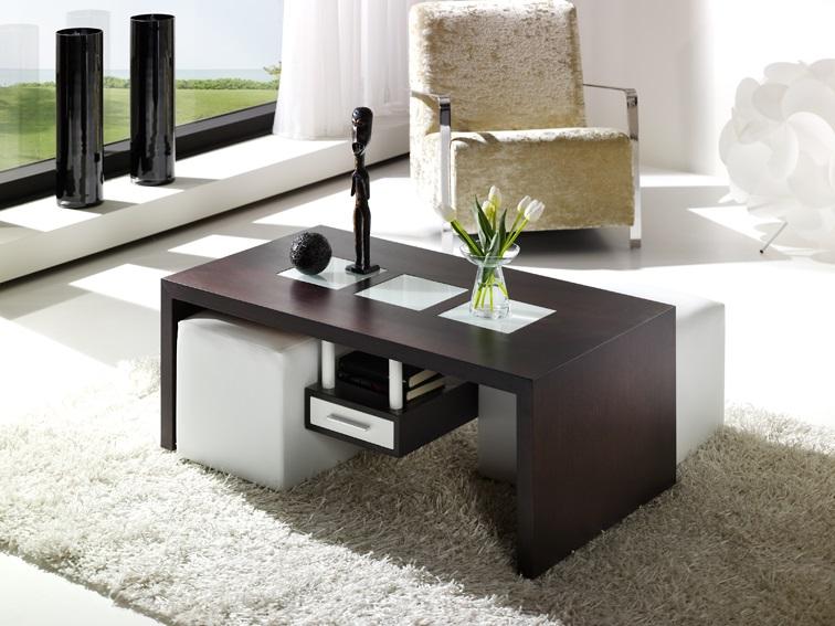 Comprar mesas de centro originales for Mesa centro puff