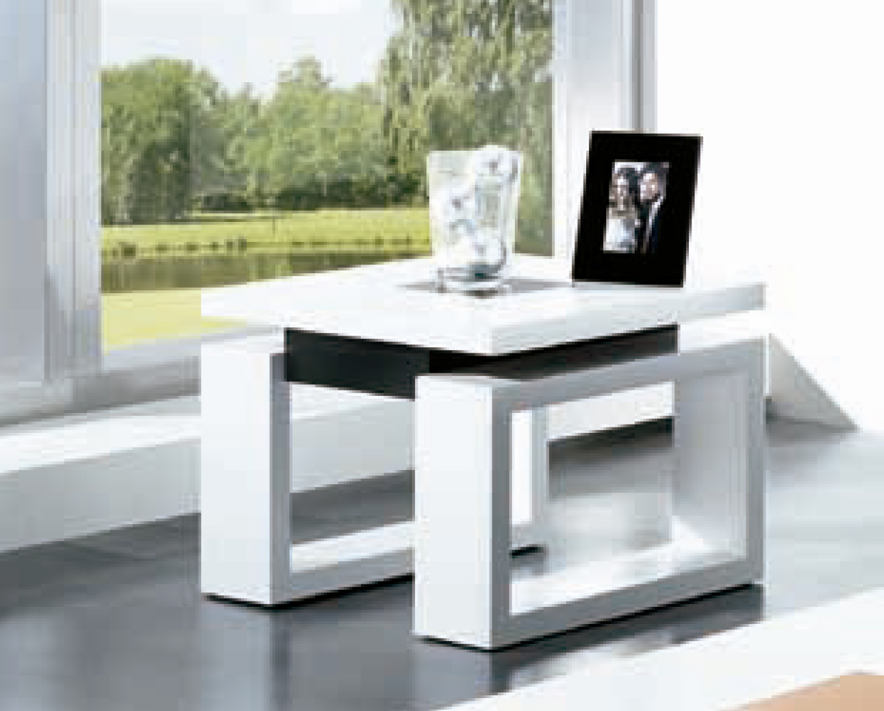Mesas de centro elevables economicas lamesadecentro for Mesa de centro blanca