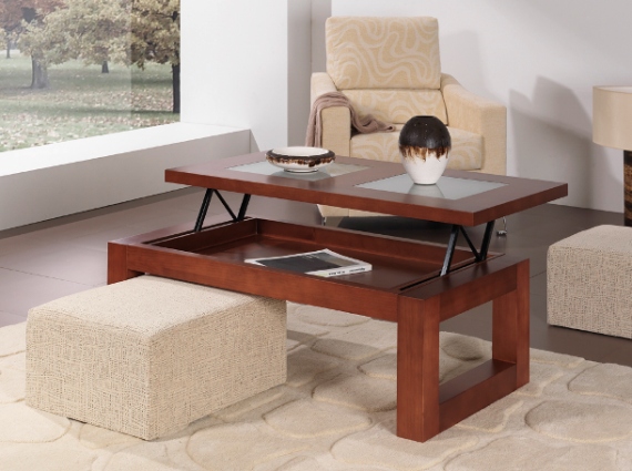 Mesa camilla rectangular y mesas de centro la mesa de centro - Mesa camilla moderna ...