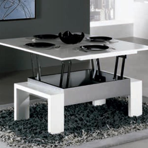 Comprar mesa centro elevable y extensible lamesadecentro - Mesas de comedor pequenas y extensibles ...