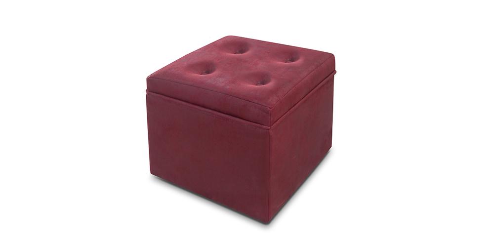 Puff cuadrado ni001 la mesa de centro for Puff cuadrados